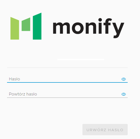 Monify rejestracja