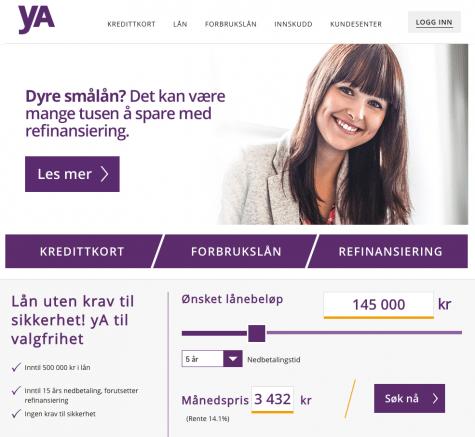 yA Bank